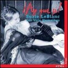 Ay Que Sý! Musiche del '600 spagnolo - CD Audio di Les Voix Humaines,Suzie LeBlanc
