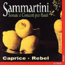 Concerti e Sonate per flauto - CD Audio di Giuseppe Sammartini