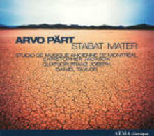 Stabat Mater - CD Audio di Arvo Pärt