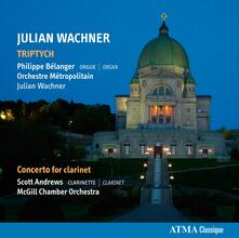 Triptych/Concerto For Clarinet - CD Audio di Julian Wachner
