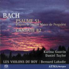 Salmo BWV51 - Cantata BWV82 - SuperAudio CD ibrido di Johann Sebastian Bach