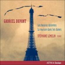 Musica per pianoforte - CD Audio di Gabriel Eduard Dupont,Stephane Lamelin