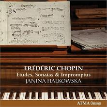 Studi - Sonate per pianoforte n.2, n.3 - Improvvisi - CD Audio di Fryderyk Franciszek Chopin,Janina Fialkowska