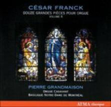 Douze Grandes Pieces Pour - CD Audio di César Franck