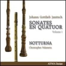 Sonate da camera - CD Audio di Johann Gottlieb Janitsch,Christopher Palameta