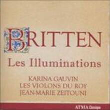 Les Illuminations - Preludio e fuga op.29 - Variazioni su un tema di Bridge - CD Audio di Benjamin Britten