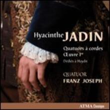 Quartetti per archi op.1 - CD Audio di Hyacinthe Jadin,Quatuor Franz Joseph