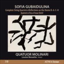 Complete Quartetti per Archi - CD Audio di Sofia Gubaidulina