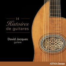 14 storie di chitarra - CD Audio di Joseph Fernando Macari Sor,Leo Brouwer,Mauro Giuliani,Antonio Lauro,Julian Arcas,François Le Cocq,David Jacques