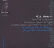 Sinfonia n.29 - Concerto per 2 pianoforti - CD Audio di Wolfgang Amadeus Mozart