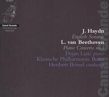 Sonate inglesi / Concerto per pianoforte n.2 - CD Audio di Ludwig van Beethoven,Franz Joseph Haydn