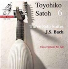 3 Suites per liuto - CD Audio di Johann Sebastian Bach