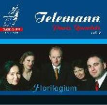 Integrale dei quartetti parigini vol.2 - SuperAudio CD ibrido di Georg Philipp Telemann