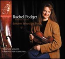 Sonate e Partite per violino solo - CD Audio di Johann Sebastian Bach