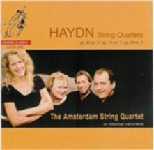 Quartetti per archi - SuperAudio CD ibrido di Franz Joseph Haydn,Buchberger Quartet