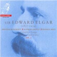 Songs per voce e pianoforte - SuperAudio CD ibrido di Edward Elgar,Amanda Roocroft,Konrad Jarnot