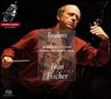 Sinfonia n.1 - SuperAudio CD ibrido di Johannes Brahms
