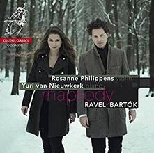 Rhapsody - SuperAudio CD ibrido di Maurice Ravel,Bela Bartok