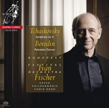 Sinfonia n.6 - Danze Polovesiane - CD Audio di Pyotr Ilyich Tchaikovsky,Alexander Porfirevic Borodin,Ivan Fischer