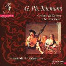 Musica da camera - CD Audio di Georg Philipp Telemann