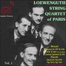 Loewenguth Quartet Vol.1- - CD Audio di Franz Joseph Haydn,Wolfgang Amadeus Mozart