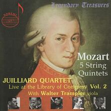 Quintets with Walter Tram - CD Audio di Wolfgang Amadeus Mozart