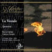 La vestale - CD Audio di Maria Callas,Franco Corelli,Gaspare Spontini,Orchestra del Teatro alla Scala di Milano,Antonino Votto
