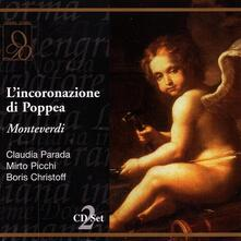 L'incoronazione di Poppea - CD Audio di Claudio Monteverdi
