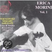 Erica Morini vol.1 - CD Audio di Erica Morini