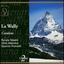 La Wally - CD Audio di Renata Tebaldi,Alfredo Catalani,Orchestra Sinfonica RAI di Roma,Arturo Basile