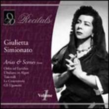 Arias & Scenes - CD Audio di Giulietta Simionato