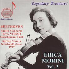 Concerto per Violino - Live Spri - CD Audio di Ludwig van Beethoven