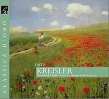 Concerti per violino - CD Audio di Johannes Brahms,Felix Mendelssohn-Bartholdy,Sir John Barbirolli,Landon Ronald,London Philharmonic Orchestra,Fritz Kreisler