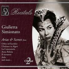 Arias & Scenes Vol.1&2 - CD Audio di Giulietta Simionato
