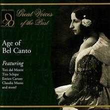 Age of Bel Canto - CD Audio
