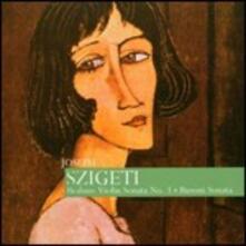 Sonata per violino n.3 / Sonata per violino n.2 - CD Audio di Johannes Brahms,Ferruccio Busoni,Clara Haskil,Egon Petri,Jozsef Szigeti