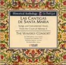 Las cantigas de Santa Maria. Canzoni e musica strumentale alla corte di Alfonso X - CD Audio di Waverly Consort