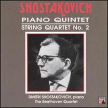 Quintetti con pianoforte - Quartetto per archi - CD Audio di Dmitri Shostakovich,Borodin String Quartet