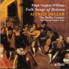 Folk Songs of Britain - CD Audio di Ralph Vaughan Williams