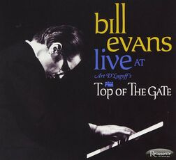 CD Live at Art D'Lugoff's Top of the Gate Bill Evans