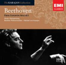 Concerti per pianoforte n.3, n.5 - CD Audio di Ludwig van Beethoven,Herbert Von Karajan,Berliner Philharmoniker,Alexis Weissenberg