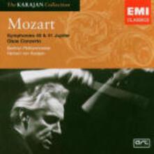 Sinfonie n.40, n.41 - Concerto per oboe - CD Audio di Wolfgang Amadeus Mozart,Herbert Von Karajan,Berliner Philharmoniker
