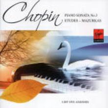 Sonata per pianoforte n.3 - Studi - Mazurke - CD Audio di Fryderyk Franciszek Chopin,Leif Ove Andsnes