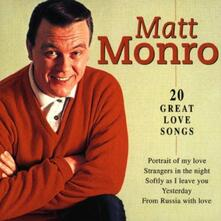 20 Great Love Songs - CD Audio di Matt Monro