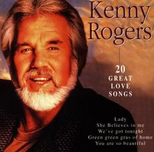 20 Great Love Songs - CD Audio di Kenny Rogers