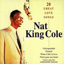20 Great Love Songs - CD Audio di Nat King Cole