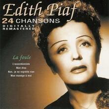 24 Chansons Cd 4 (Digitally Remastered) - CD Audio di Edith Piaf