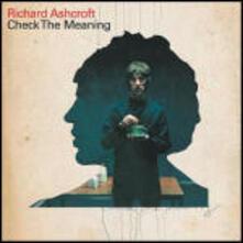 Richard Ashcroft. Check The Meaning (Single) (DVD) - DVD di Richard Ashcroft