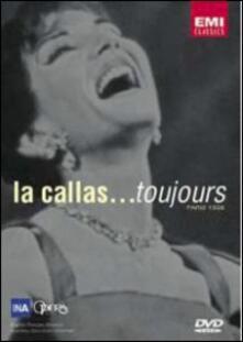 Maria Callas. La Callas... Toujours, Paris 1958 - DVD