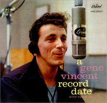 A Record Date ( + Bonus Tracks) - CD Audio di Gene Vincent